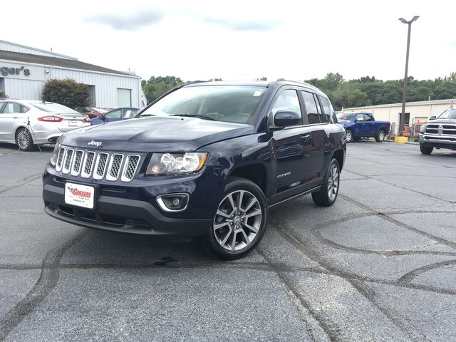 Certified Pre Owned 2017 Jeep Compass High Altitude 4d Sport Utility