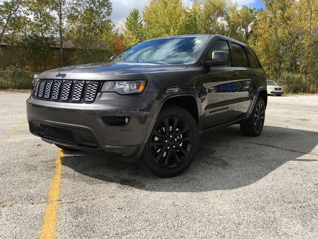 New 2018 Jeep Grand Cherokee Altitude Sport Utility In
