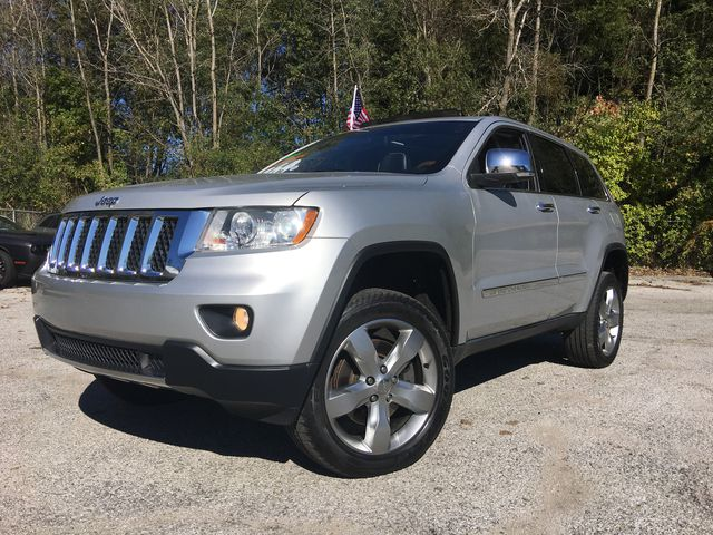 Pre Owned 2011 Jeep Grand Cherokee Overland 4d Sport Utility In