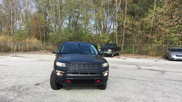 New 2018 Jeep Compass Trailhawk 4d Sport Utility In