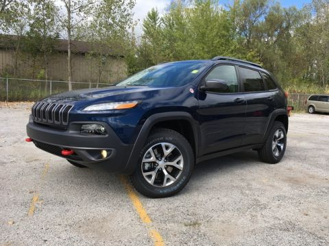 New 2018 Jeep Cherokee Trailhawk Sport Utility In